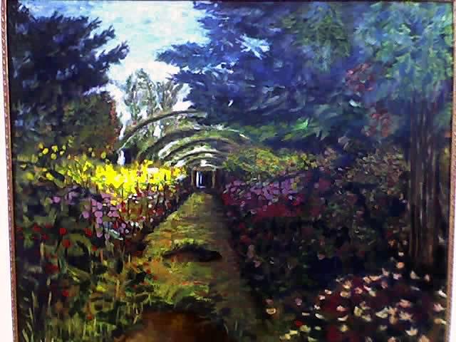 Jardin frances jardin de monet en 1992 angel casta o for Jardin frances