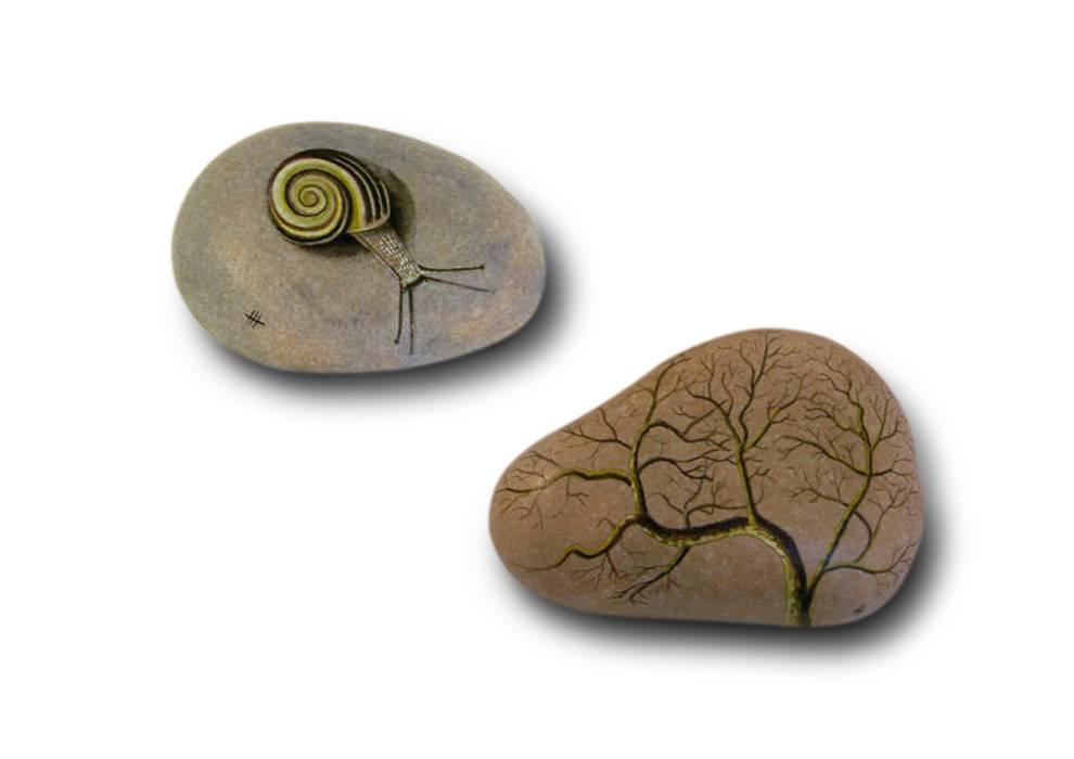 Piedras pintadas marisa maestre rebollo for Pintura de piedras