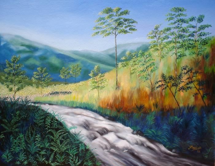 Rio De Agua Viva Joseline Cáceres Artelistacom