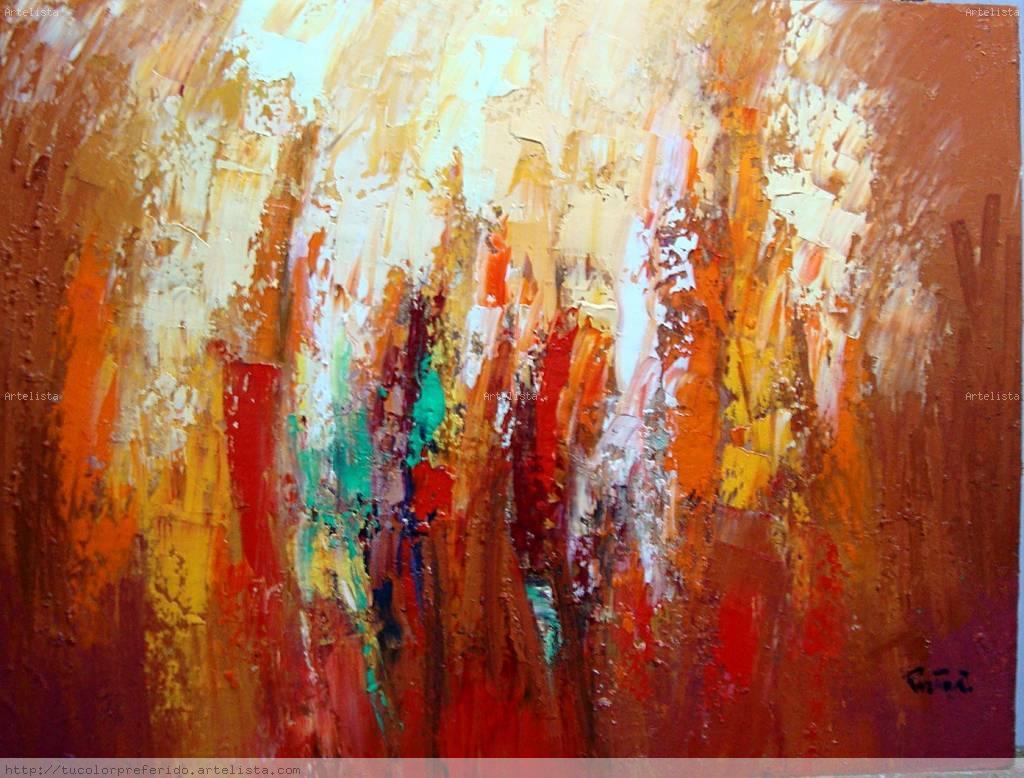Pinturas abstractas en oleo imagui - Pinturas acrilicas modernas ...