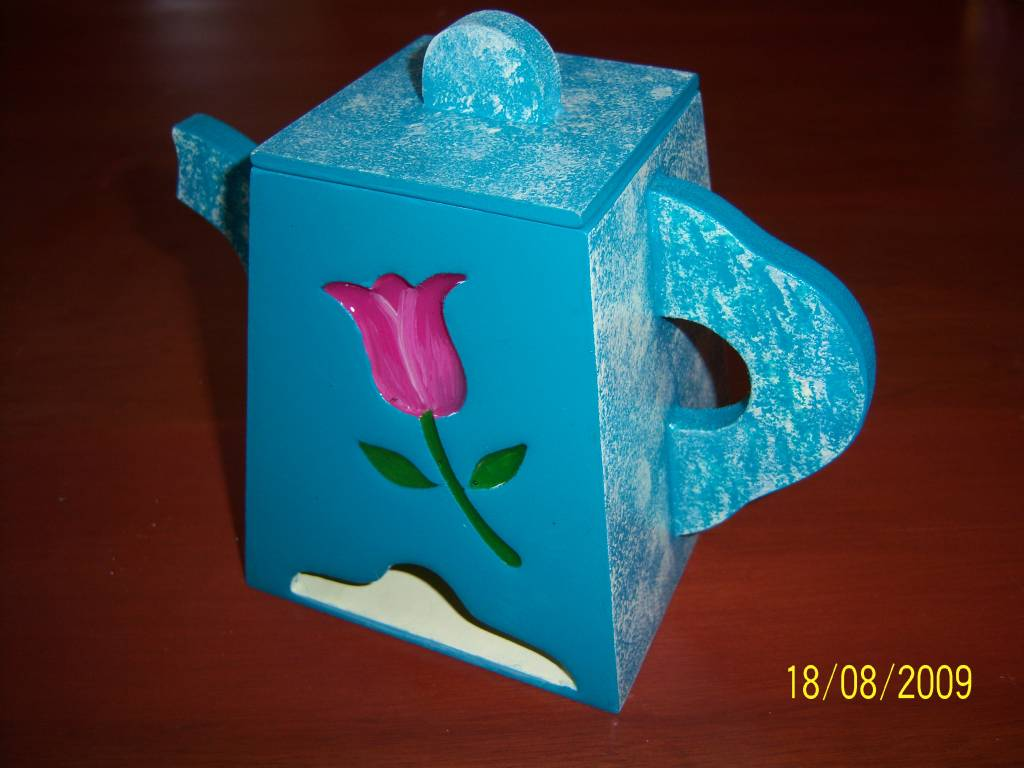 Pinterest Manualidades En Madera.Manualidades En Madera Porta Te Ysabel Ocmin Rodriguez Artelista Com