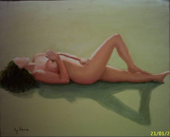 Desnudo En La Playa José María Gómez Vera Artelistacom