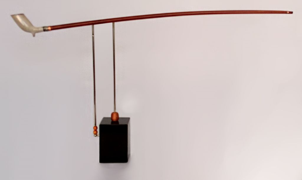 ceci est une pipe, (this is a pipe), sculpture