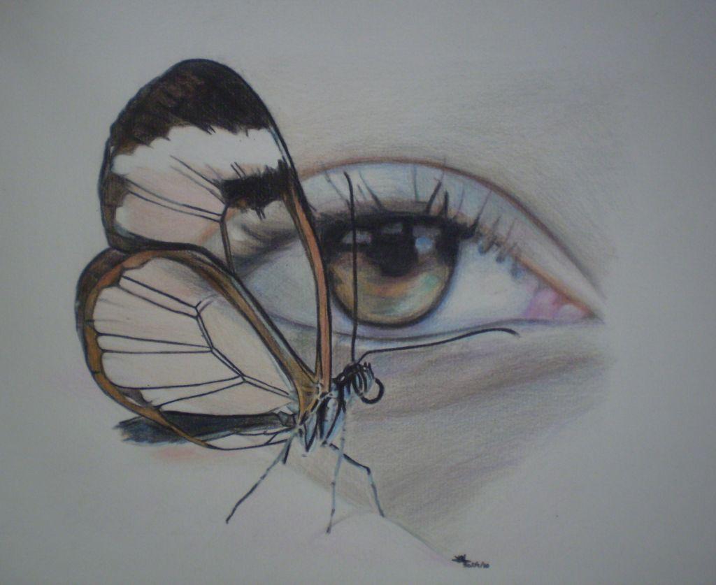 Ojo Mariposa Cristina Maury Benítez Artelistacom