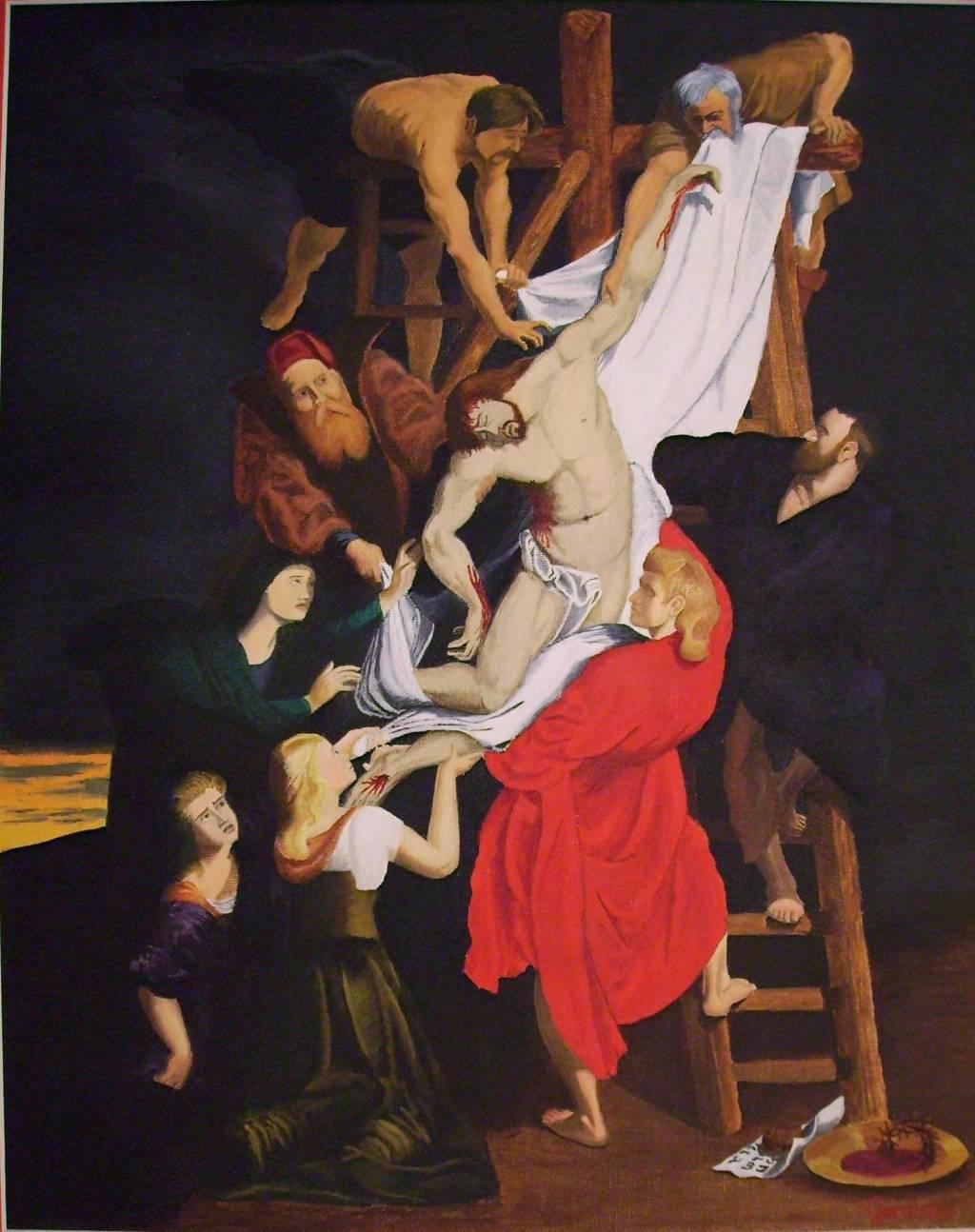 Descendimiento De La Cruz De Rubens Gustavo García Artelista Com