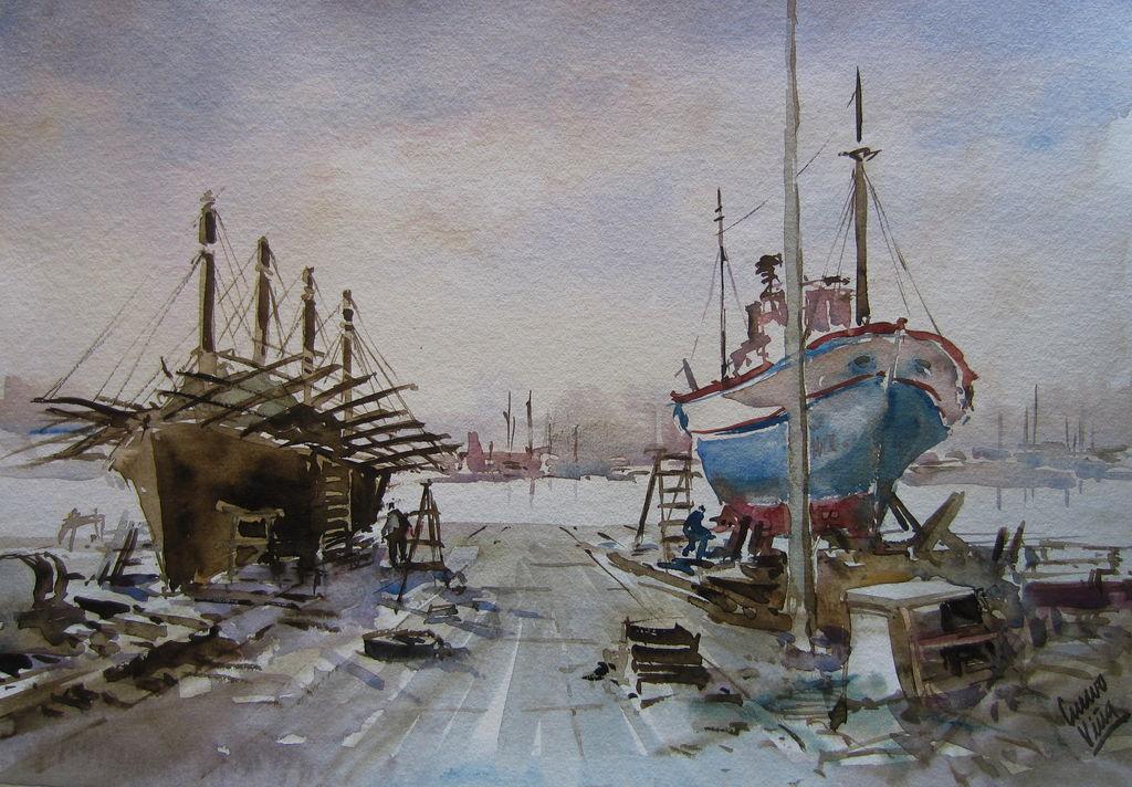 antiguo astillero-la coruña