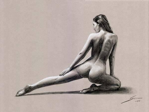 Mujer Desnuda DE Cuerpo Completo Clip Art Descargar