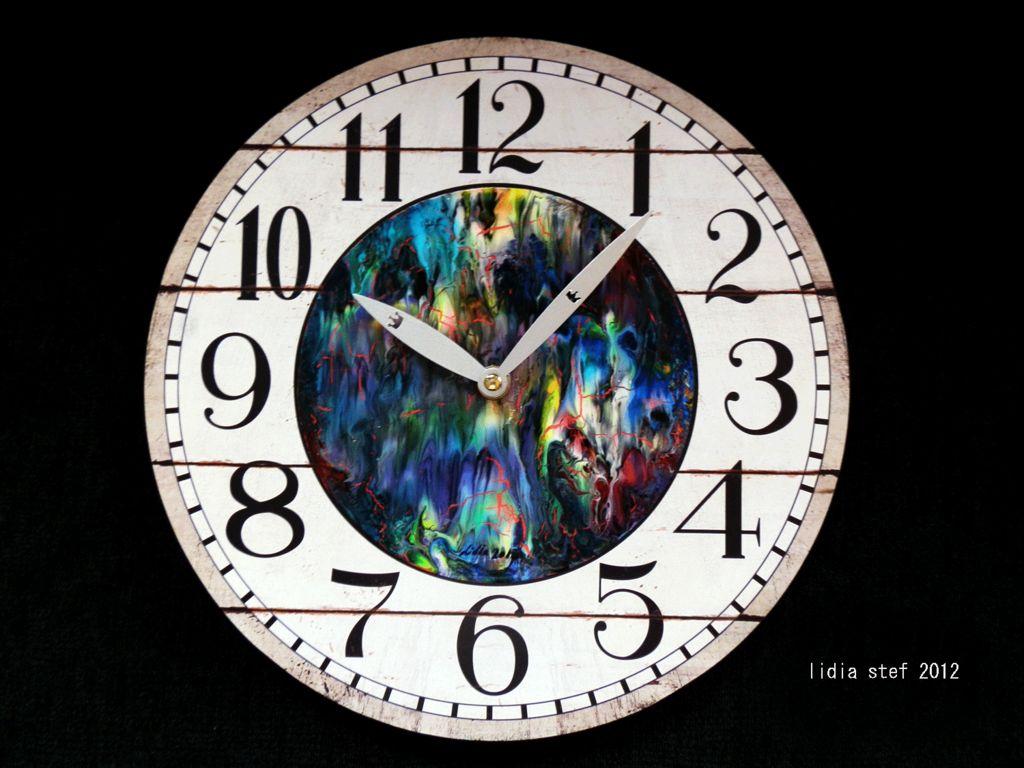 Acrilica Pintura Stef Pintura Lidia Stef Reloj Acrilica Lidia Reloj L35Rj4A