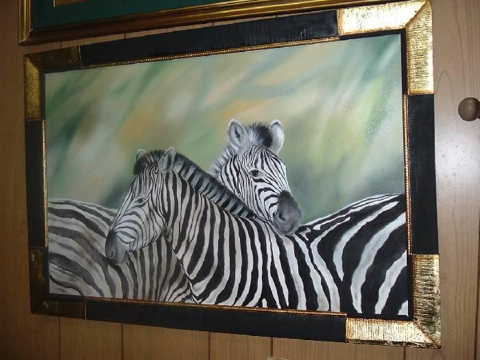 Las cebras de africa graciela d 39 empaire - Cuadros de cebras ...