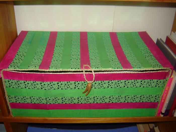 Venta de cajas de carton decoradas imagui for Cajas grandes de carton decoradas