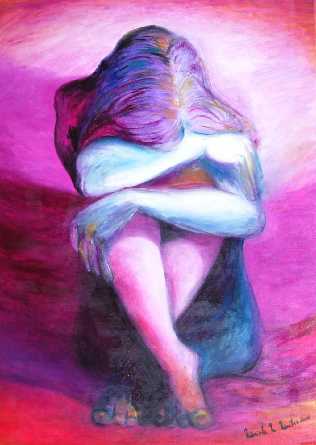 Resultado de imagen para pinturas de tristeza