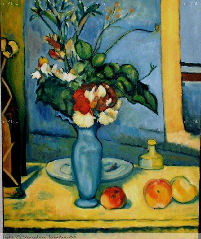 Le Vase Bleu Gins Carrin Olivares Artelista
