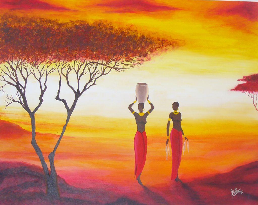 Paisaje africanos