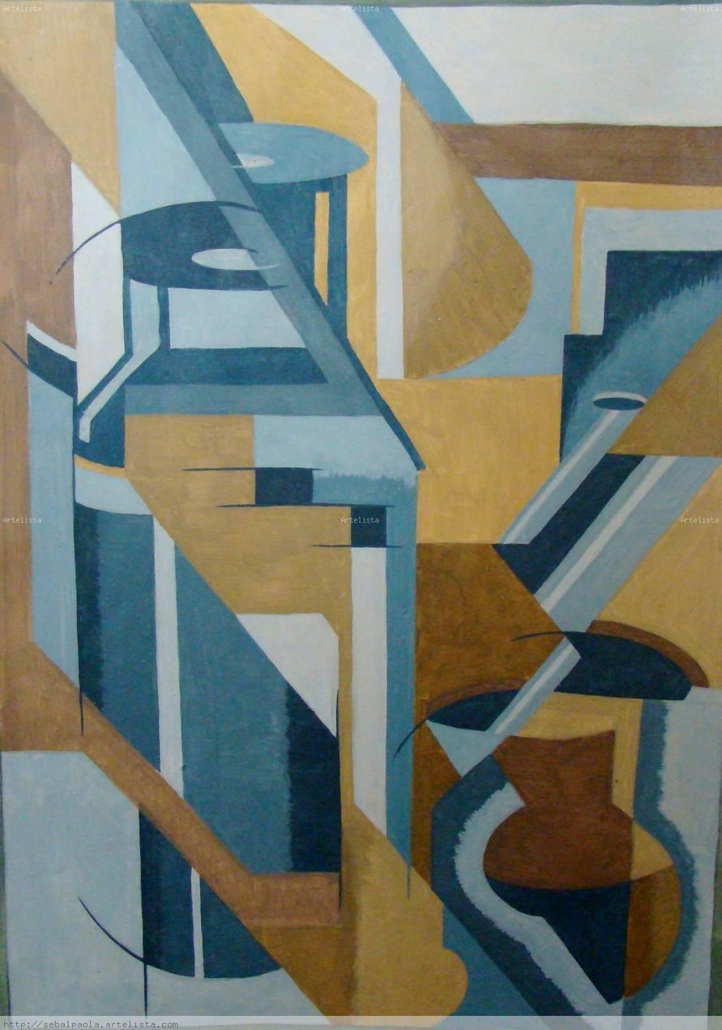 Matero paola sebal for Cuadros con formas geometricas