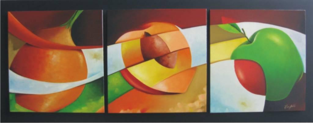 Bodegon triptico mapumas - Ver cuadros modernos ...
