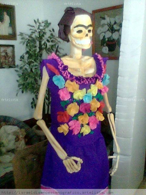 Vestidos de papel crepe , Imagui