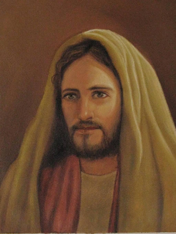 Rostro De Jesus Luis Antonio Godoy Choc Artelista Com En