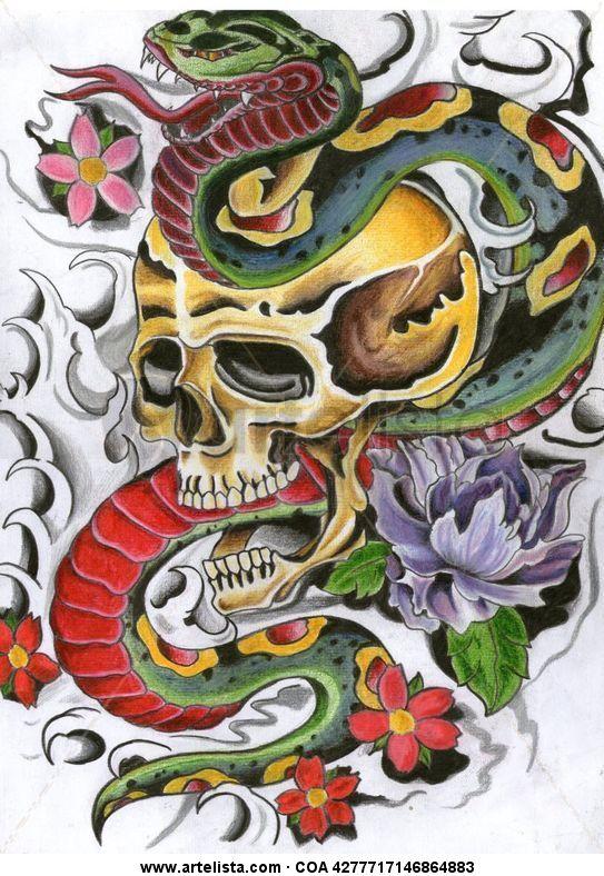 serpientes y calaveras Diego Otero  Artelistacom