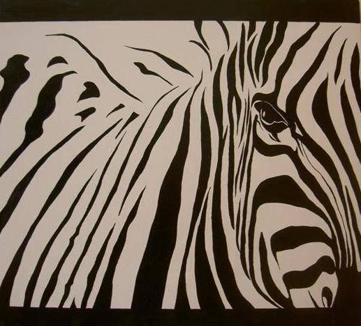 Pinturas d cebras imagui - Cuadros de cebras ...