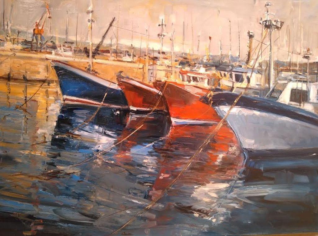 barcas de pesca en santurce