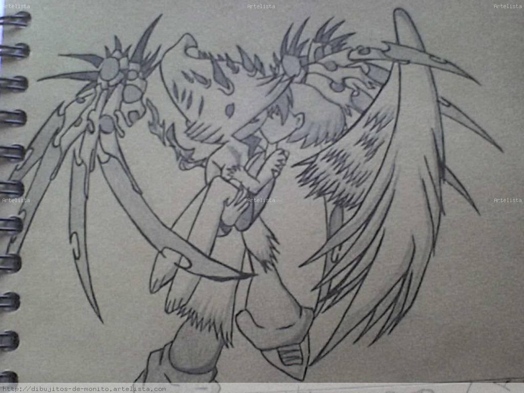 Pin Abiertas Dibujo Graffiti Corazones Con Alas Angel