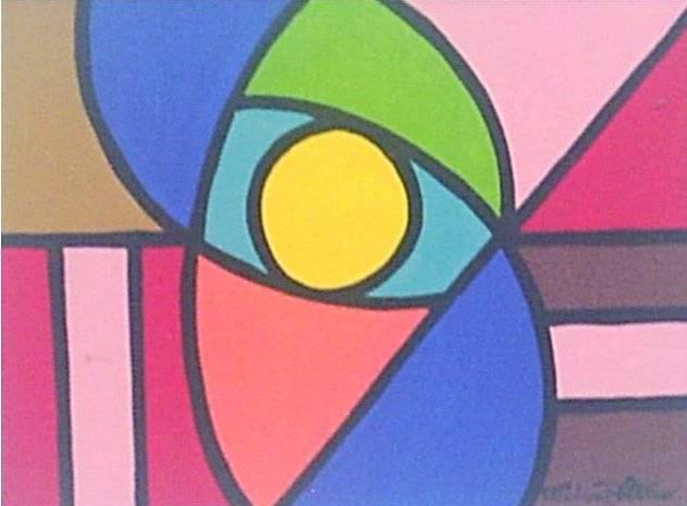 Abstrato geom trico xii lima filho - Cuadros con colores calidos ...