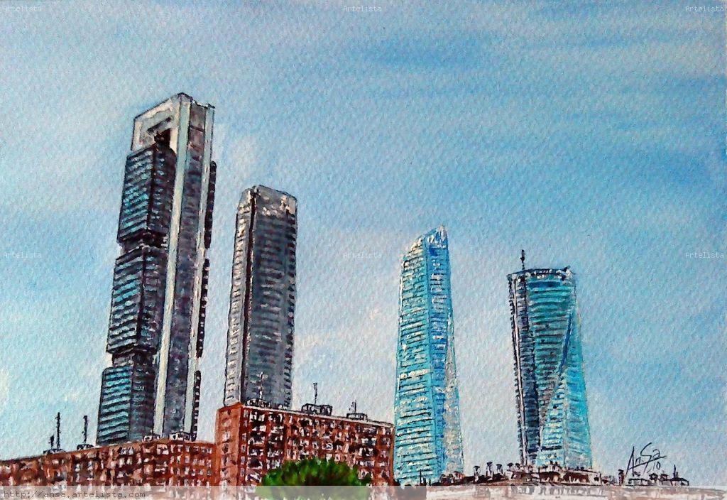 Cuatro Torres Business Area (Madrid) Juan Carlos Sastre