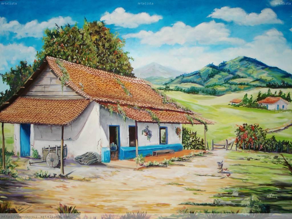 Casa con horno alejandro mendez - La casa del cuadro ...
