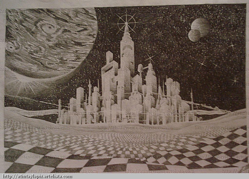 Los inicios de la ciudad baldosa sergio villa - Dibujos infantiles del espacio ...