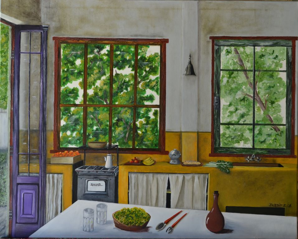 Cocina de campo Maria Ines Bermúdez - Artelista.com