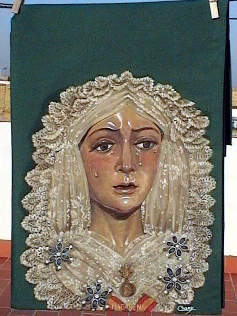 Virgen de la macarena sevilla chary carzon for Todo pintura sevilla