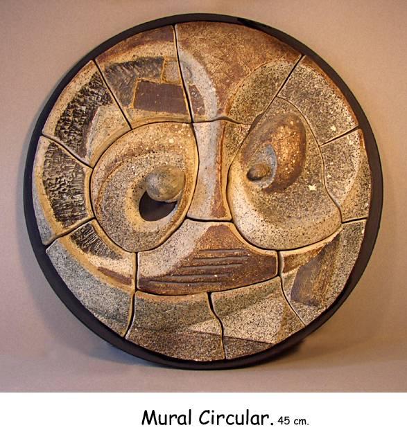 Mural circular manu adame - Murales de ceramica ...