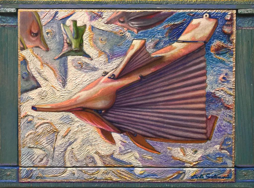 EL PEZ BRAMIDOS - ( enmarcado ) Carlo Salomoni - Artelista.com