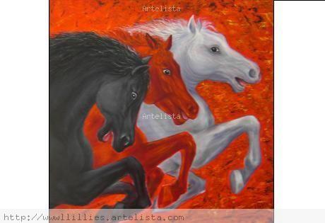 Resultado de imagen para caballos del apocalipsis