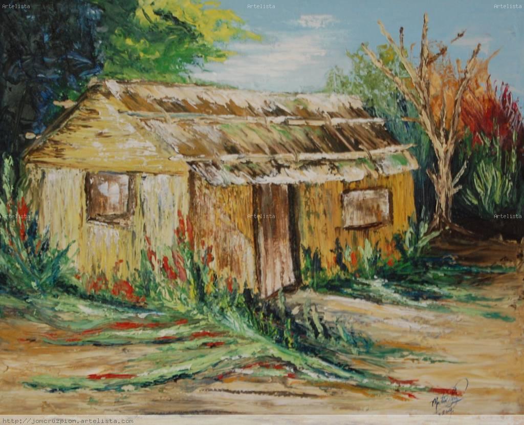 Casa de campo jose martin cruz pion - Cuadros para pintar en casa ...