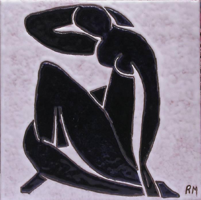 Desnudo azul 2 Homenaje a Henri Matisse William V