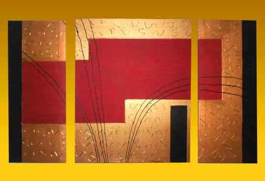 Cuadros abstractos texturados paso a paso - Imagui