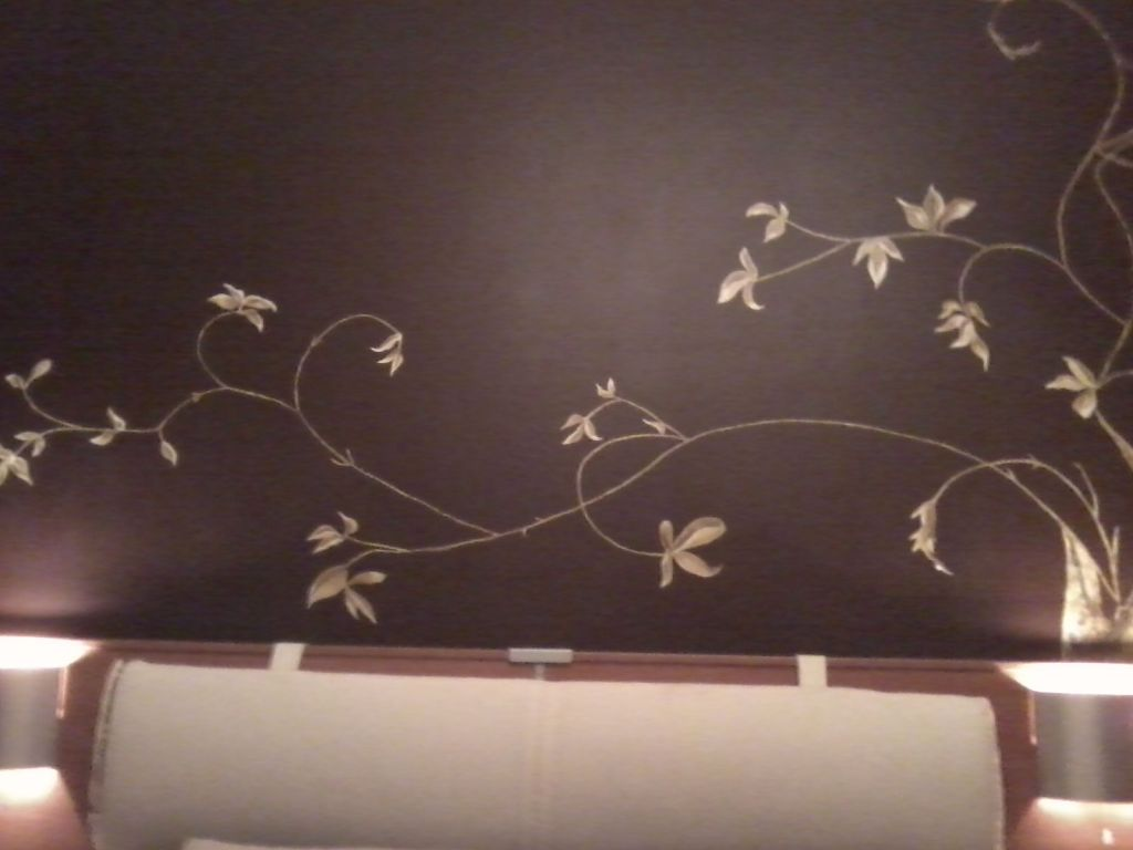 Mural en oleo y pintura al agua en pared de 2 metros - Pintura de pared ...