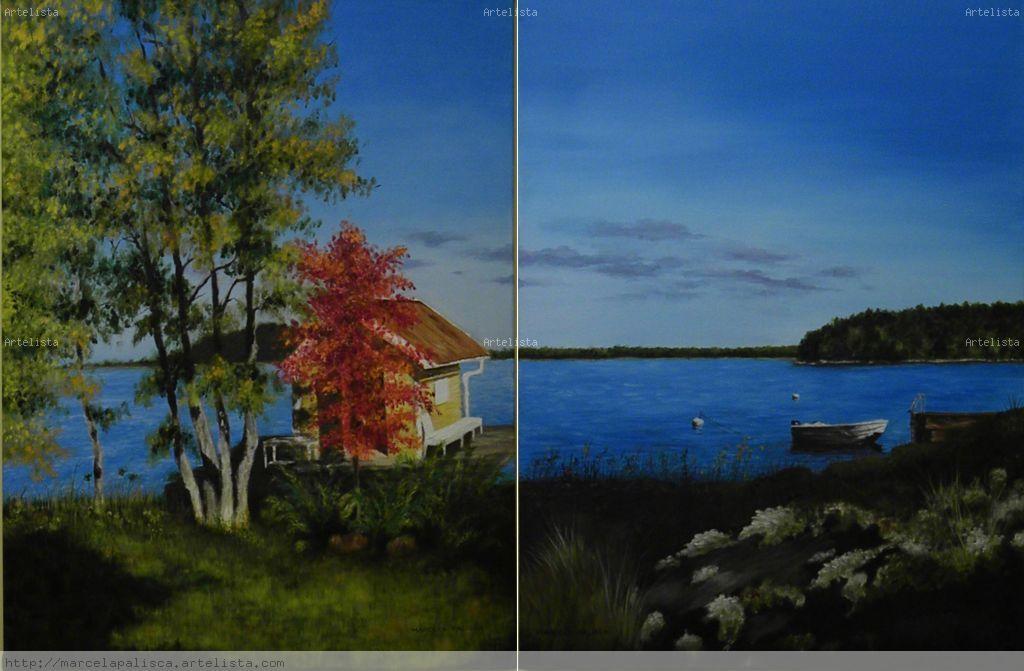 La casa del lago diptico marcela palisca - La casa del lago ...