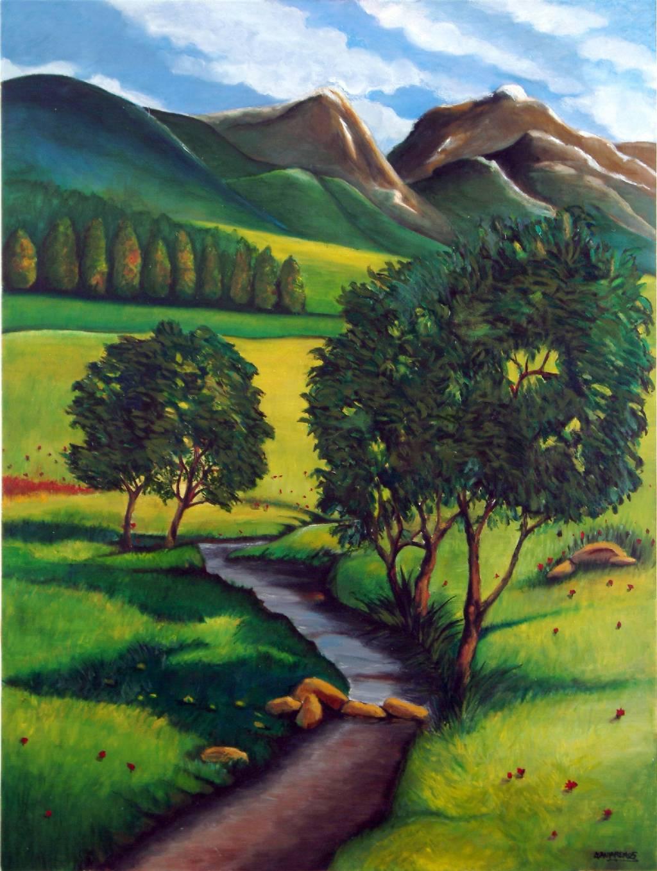 Paisaje montañosos