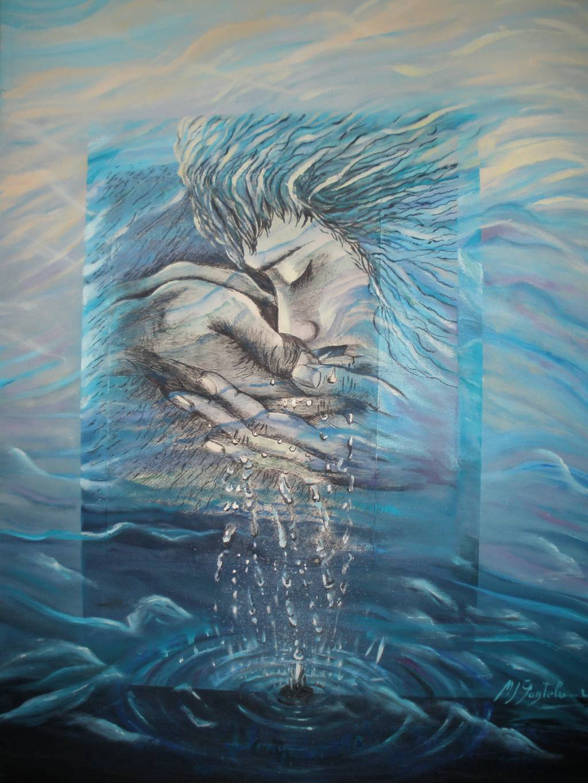 Manos de agua mari jose gaztelumendi - Pinturas al agua ...