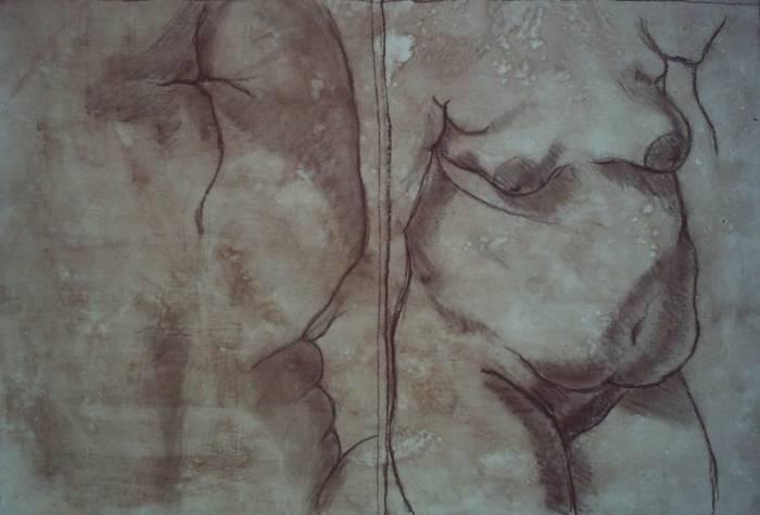 Mujer Desnuda De Frente Imágenes De Archivo,