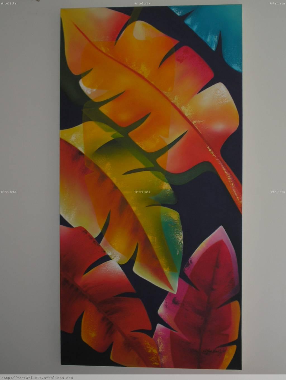 Hojas multicolor maria lucia jaramillo vallejo for Imagenes de cuadros abstractos para colorear