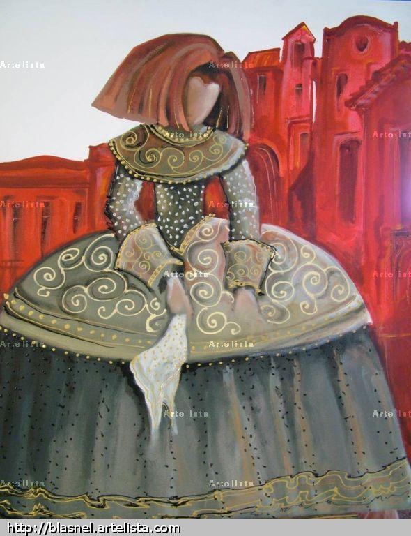 Menina eduardo juanes - Cuadro meninas moderno ...