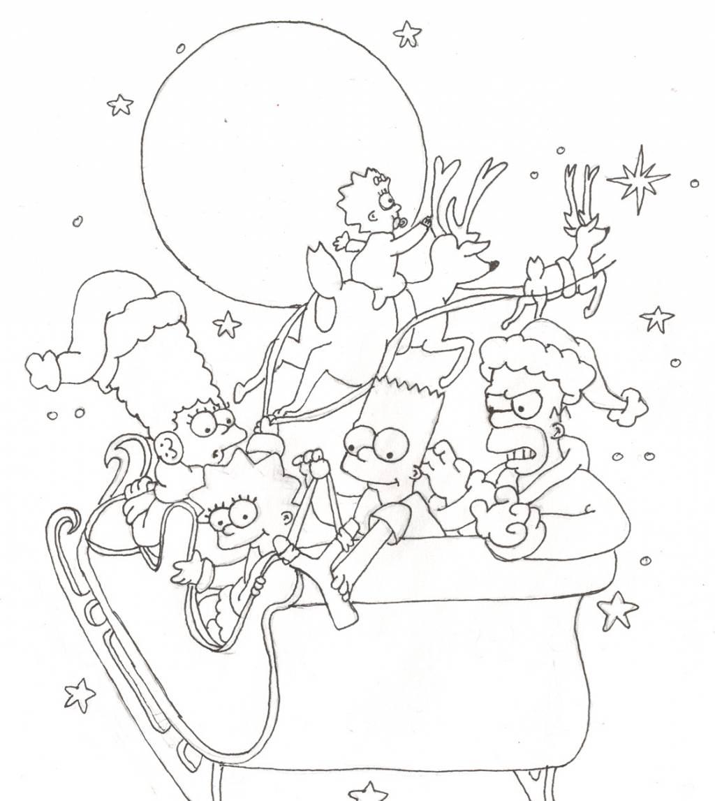 Navidad Simpson Sandra Maroto Artelista Com