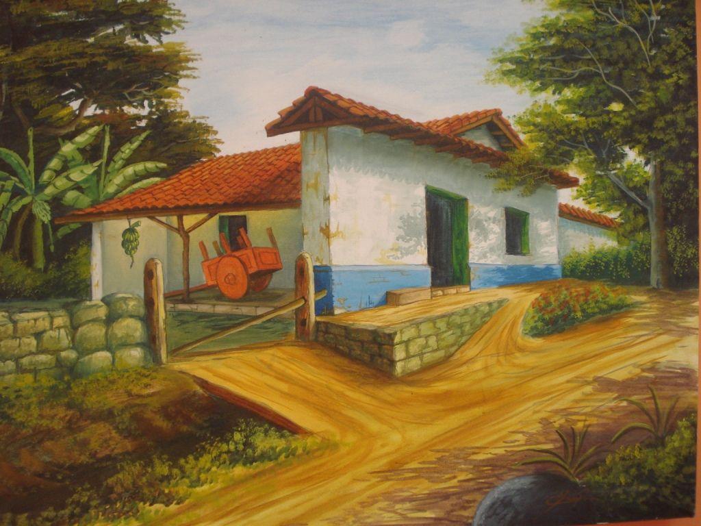Casa tipica costarrisence erick monge en - Casas de pinturas ...