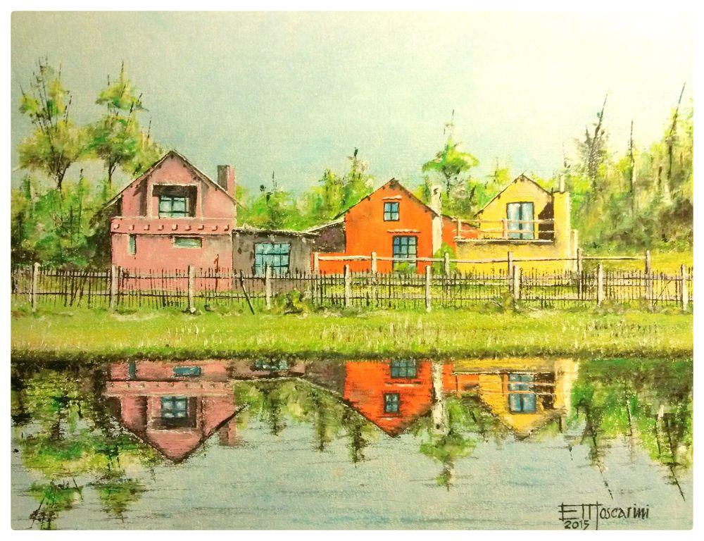 Casas sobre la laguna lorenzo moscarini - Casas en la laguna ...