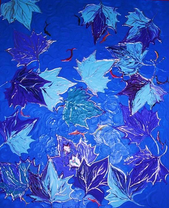 El duende del estanque gisel franquet for Pintura para estanques