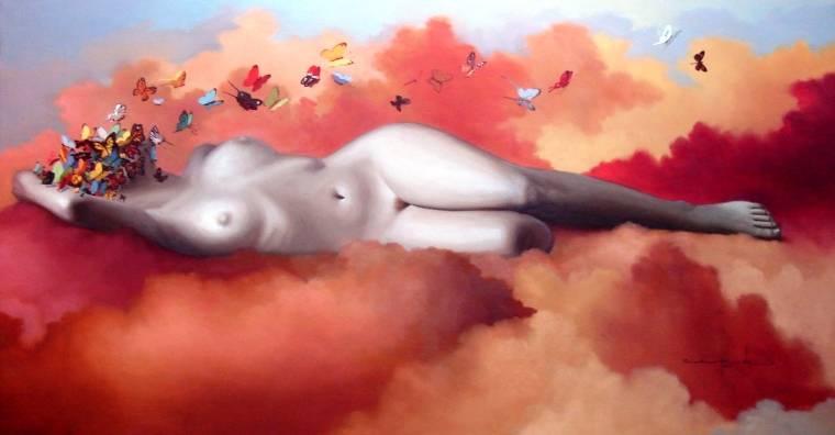 Ilustracin gratis: Desnudos, Mujer, Dibujo, Lpiz