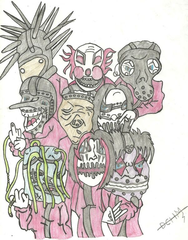 Slipknot Animado Daniel Chanon Artelistacom